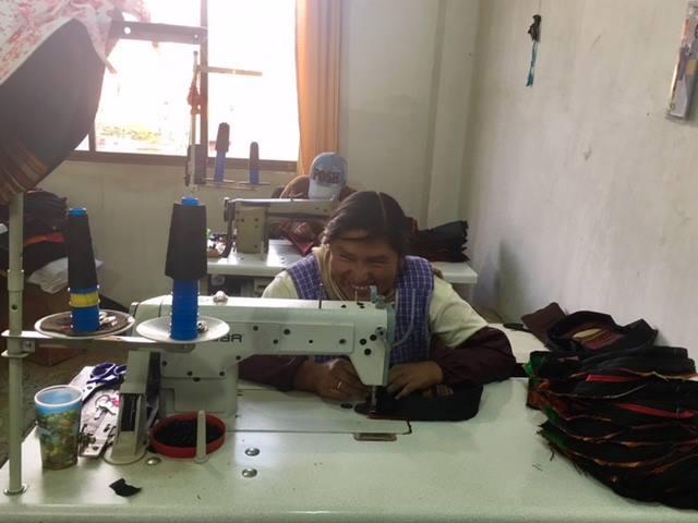 Sac pachamama - artisanat bolivien