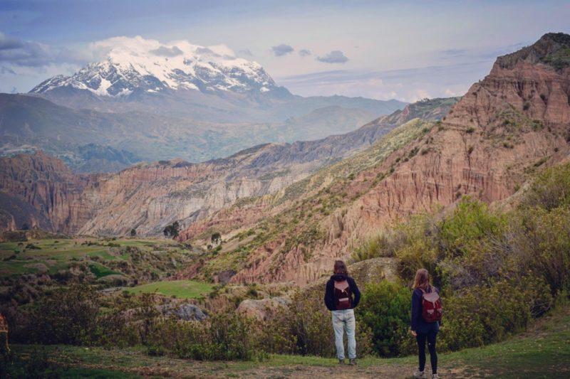pachamama bolivie paysage illimani montagne randonnée aventure explorer nature