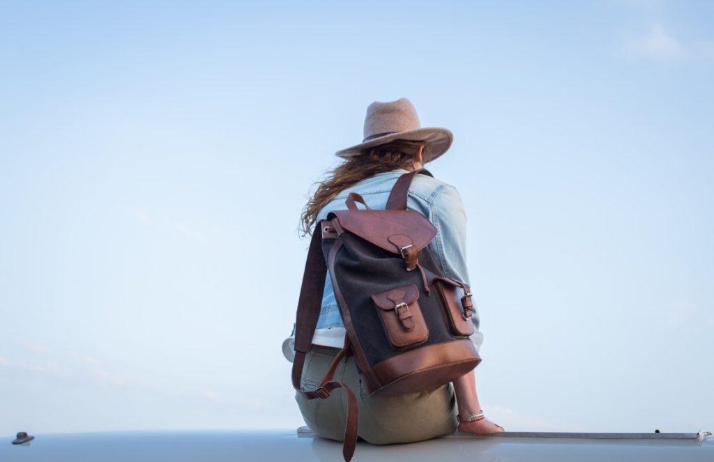 women ethical backpack