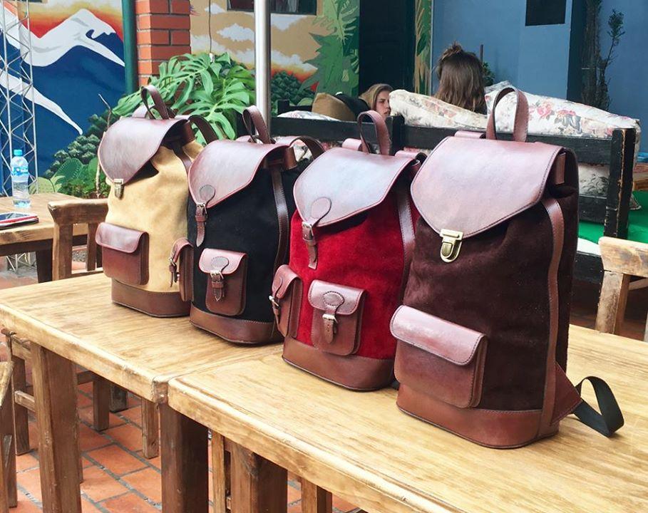 sac pachamama - sac en cuir urbain