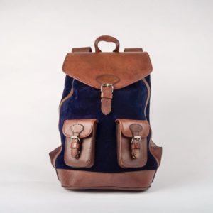 sac à dos bleu élégant