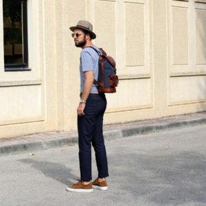 sac à dos lifestyle look citytrip