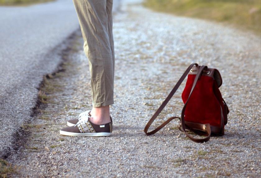 sac à dos lou rouge pachamama stop roadtrip bohème chaussures n'go cuir