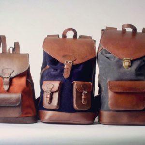 sac à dos lou ocre gabi bleu nuit joe gris famille taille vintage rétro tendance élégant