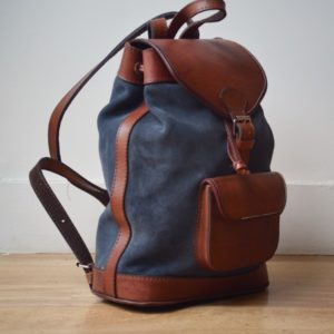 sac à dos cuir bohème rétro