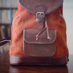 pachamama sac à dos orange