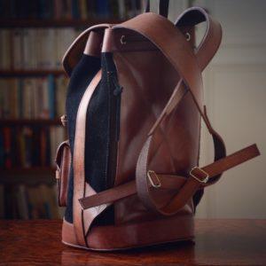 sac à dos éthique cuir