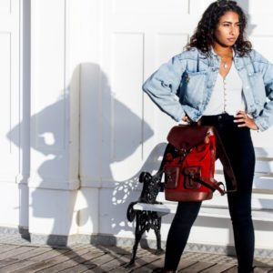 sac à dos femme urbaine