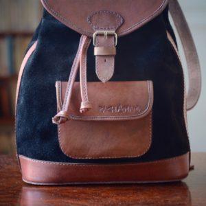 sac à dos noir pachamama