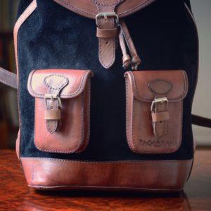 sac à dos vintage noir