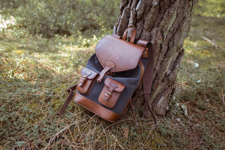 sac à dos gabi anthracite pachamama forêt arbre vacances voyage