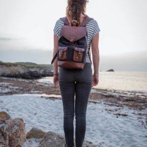 sac gabi anthracite pachamama plage coucher de soleil sunset voyage aventure