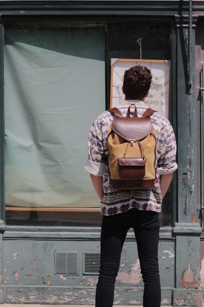 sac à dos urbain cuir safari pachamama tendance style