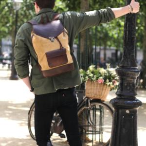 sac à dos urbain pachamama paris élégant style