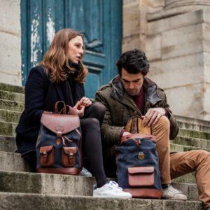 sac à dos urbain ville homme femme tendance cuir