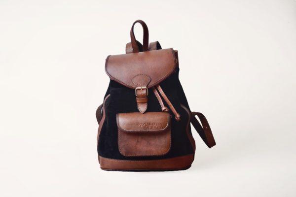 sac à dos en cuir urbain