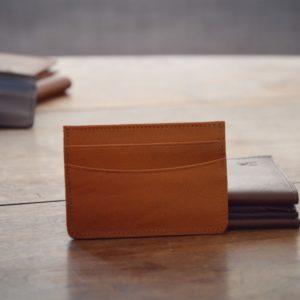 porte cartes cuir