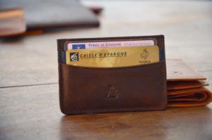 maroquinerie porte cartes homme