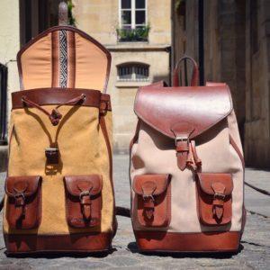 sac à dos pachamama cuir urbain