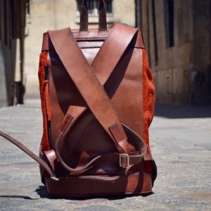 pachamama sac en cuir