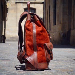 sac à dos ocre pachamama