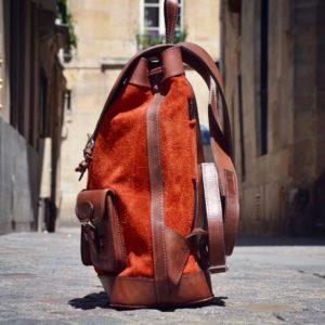 sac à dos nubuck pachamama