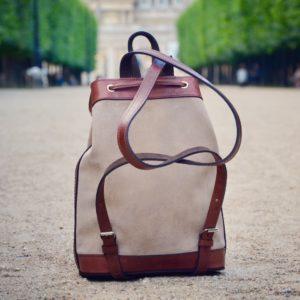sac à dos pachamama cuir