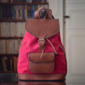 sac à dos cuir