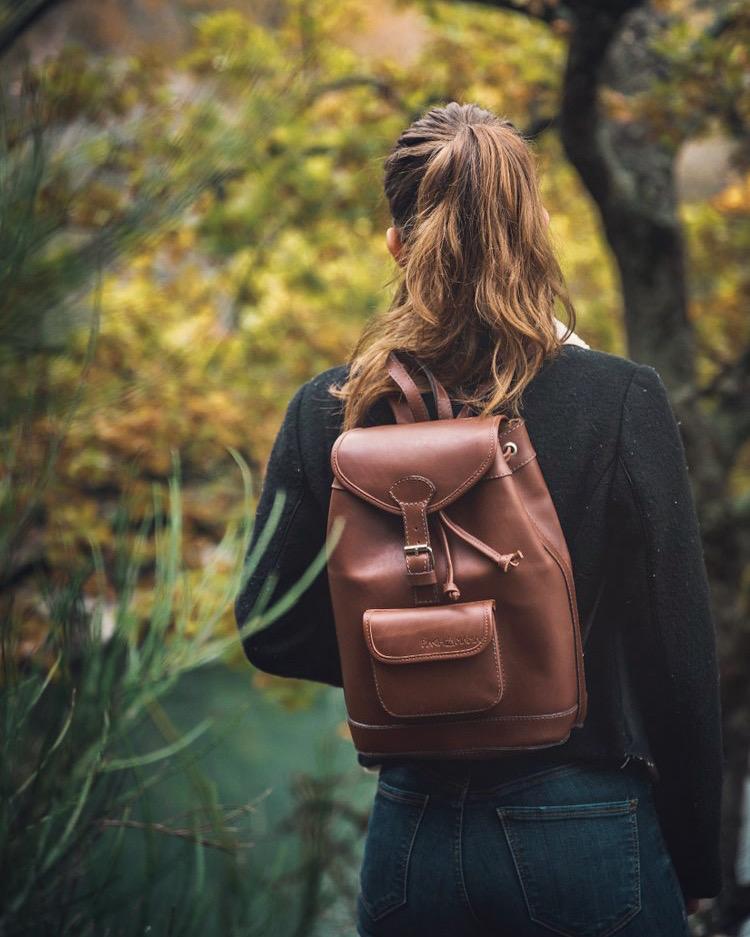 sac a dos femme cuir