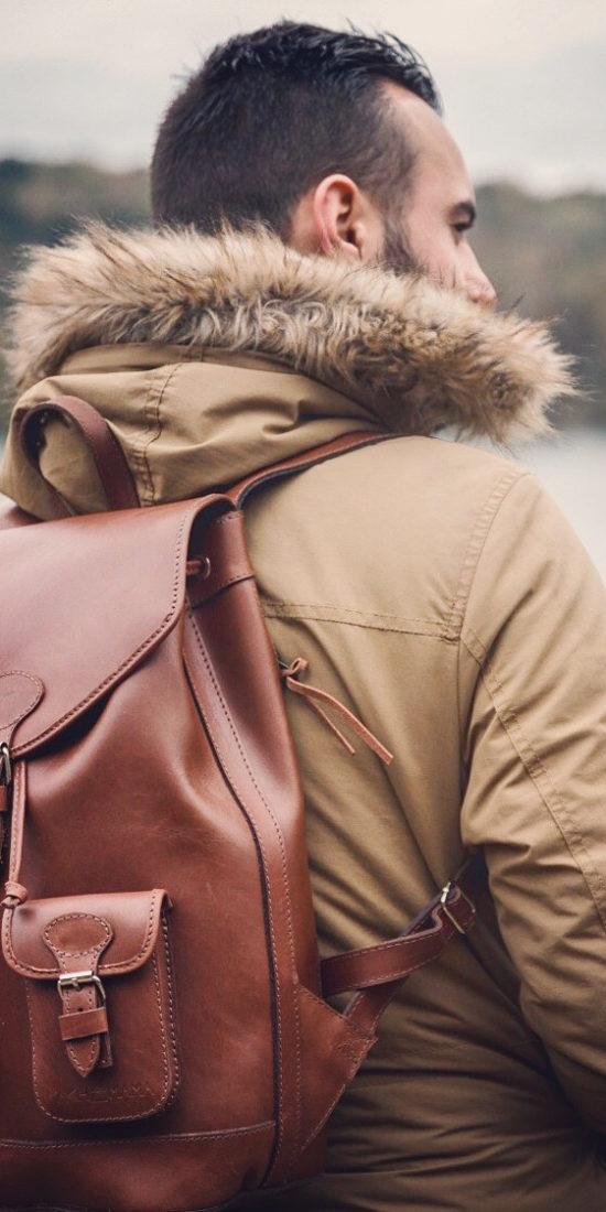 sac à dos cuir homme