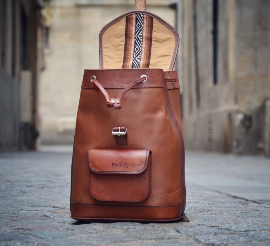 pachamama sac à dos vintage
