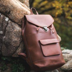 sac à dos cuir vintage pachamama
