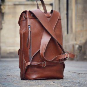 pachamama sac a dos en cuir urbain