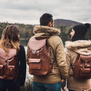 sacs à dos cuir forêt