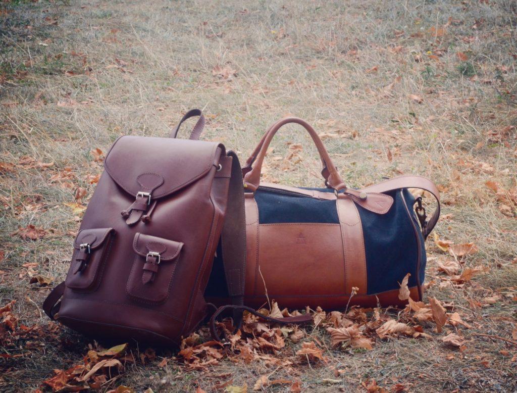 sac de voyage en cuir pachamama