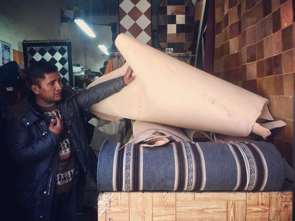 pachamama fabrication sac à dos