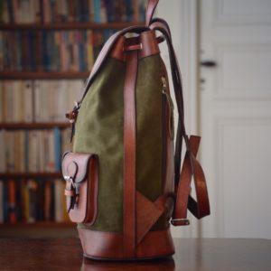 sac à dos kaki