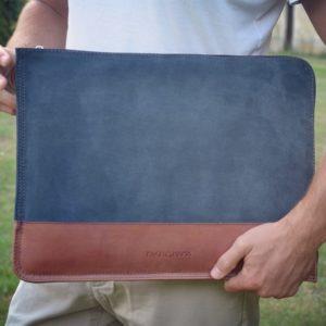pochette ordinateur en cuir
