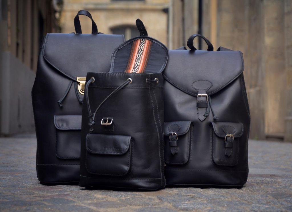 Pachamama sac à dos noir