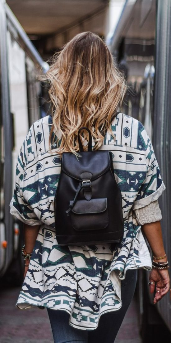 petit sac à dos noir