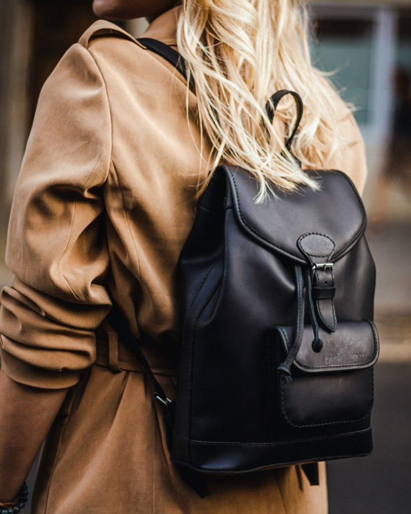 sac à dos cuir femme