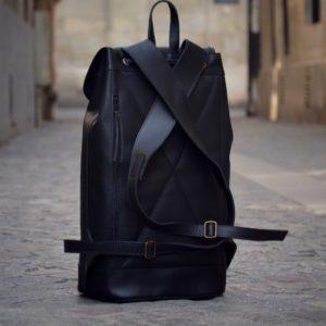 sac à dos noir urbain