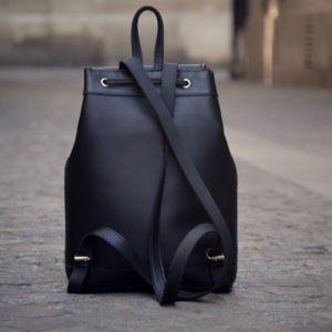 sac à dos noir ville