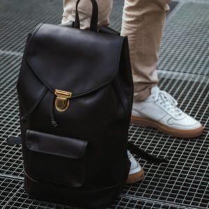sac à dos urbain noir