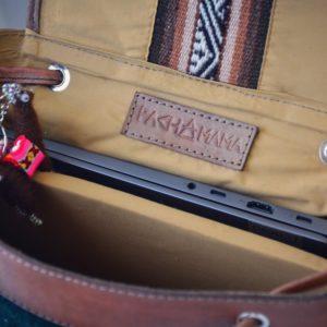 pachamama sac à dos intérieur