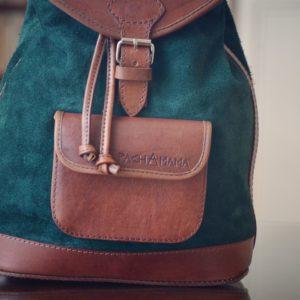 sac à dos vert
