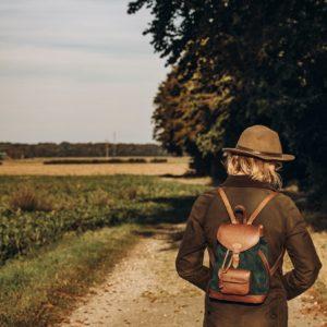 sac à dos femme forêt